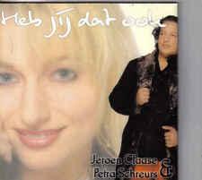 Jeroen Claase&Petra Schreurs-Heb jij Dat Ook cd single