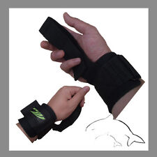 Quality GYM Weight Lifting Strap -- heavy duty wrist support gloves hooks #A011