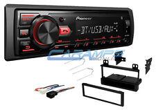 NEW PIONEER BLUETOOTH CAR STEREO RADIO W/ DIGITAL MEDIA & USB/AUX W/ INSTALL KIT