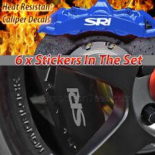 SRI Brake Caliper Decal Sticker, Car Vinly Graphic