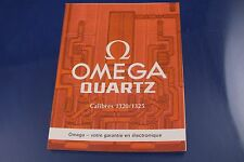Vintage 1970s Omega Watch Instructions Booklet for Caliber Cal 1320 1325 FRENCH