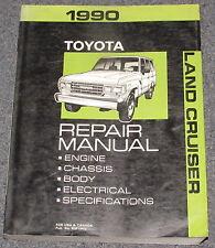 1990 Toyota Land Cruiser Service Repair Manual