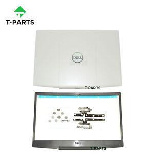 New 03HKFN For Dell Inspiron G3 15 3590 LCD Back Cover&Bezel&Hinge&Screws Lot