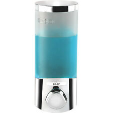 Seifenspender Uno chrom Shampoo Spender Seife Soap Dispenser Wandmontage