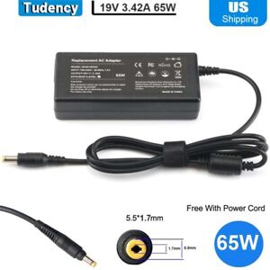 AC Adapter 19V 3.42A 65W Laptop Charger for Acer Aspire M5 Series Power Supply