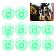 10pcs Green Plastic Bobbin Spools Sewing Machine Fit for Husqvarna Viking se