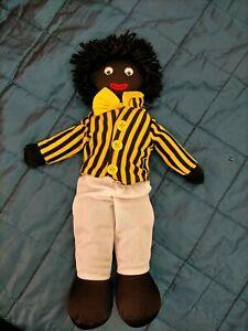 black rag cloth doll collectable