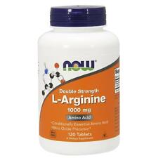 Now Foods Double Strength L-Arginine 1000 MG 120 Tablets