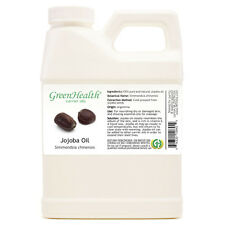 16 fl oz Jojoba Carrier Oil (100% Pure & Natural) Plastic Jug