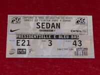 [COLLECTION SPORT FOOTBALL] TICKET PSG / SEDAN 23 FEVRIER 2002 Champ.France