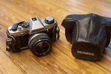 New ListingOlympus Omg Om20 35mm Camera + Om 50 1.8 Film Tested W/Samples