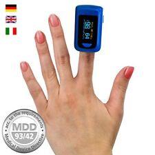 OLED dedo oxímetro de pulso, medidor de pulso, oxímetro, Pulsómetro, certificado médico