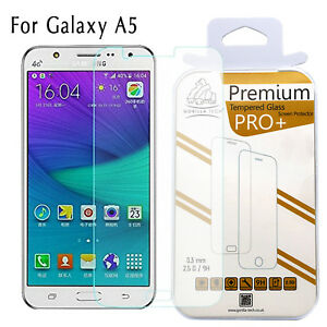 Galaxy A5 Screen Protector Tempered Glass LCD 100% Genuine Gorilla for Samsung