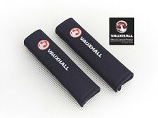 Richbrook 'Licensed' Vauxhall Seat Belt Shoulder Pads / BLACK Padded Harness