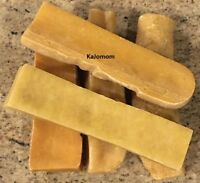 1 PC FRESH Himalayan Dog Chew Bulk MEDIUM Treat Bone Cheese GENUINE Yak Dental
