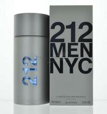 212 Men By Carolina Herrera Eau De Toilette 3.4 Oz 100 Ml Sealed NEW