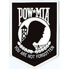 POW MIA You Are Not Forgotten Outside Window Decal Sticker