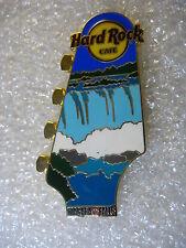 NIAGARA FALLS CANADA,Hard Rock Cafe Pin,Guitar Head