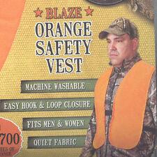 Hunter's Specialties Blaze Orange Super Quiet Safety Vest 02000
