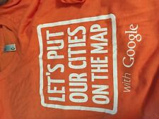 Google Maps   t shirt adult adult  men's Large  NEW