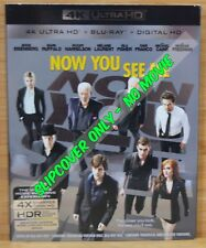 NOW YOU SEE ME Blu-ray Slipcover (COVER ONLY-NO MOVIE DISC)