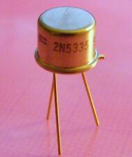 5x 2n5335 NPN transistor 80v 3a 6w, Fairchild