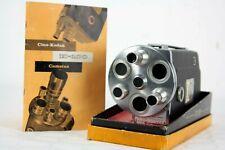 "nice KODAK K-100  16mm ""C mount"" turret movie camera + instructions"