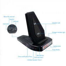 1080P Wireless Phone Charger w/ Hidden Camera I Motion Detection I Wide Angle