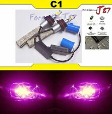 Led Kit C1 60W 9004 Hb1 30000K Pink Head Light High Low Beam Replacement(Fits: Lynx)