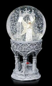Only Love remains Snow globe by Anne Stokes, Nemesis Now gothic fantasy ornament