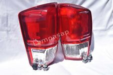 Rear Tail Taillight Light Lamp w/2Bulb One Pair Fit 2016 2017 Tacoma Base SR SR5
