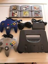 Nintendo 64 Grey Console Pack. Free Registered Postage In Australia
