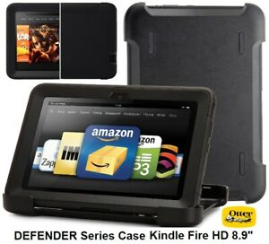 """OtterBox DEFENDER Series Case for Amazon Kindle Fire HD 8.9"""" - Black / 77-25221"""