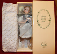 """15"""" Dianna Effner's Cinderella In Rags Doll,From The Fairy Tale,By Knowles."""