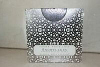 GIANNA ROSE ATELIER 4 SNOWFLAKES FRENCH MILLED HOLIDAY SOAPS BOXED SEE DETAILS