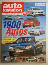 auto katalog Modelljahr 1999 Nr. 42 - Vereinigte Motor-Verlage GmbH, 308 Seiten