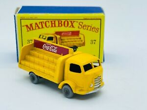 Matchbox #37 Karrier Bantam Coca-Cola Truck, gray wheels