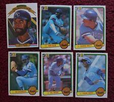 1983 Donruss Kansas City Royals Baseball Team Set (24 Cards) ~ George Brett ++