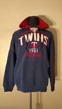 Minnesota Twins G-III Sports By Carl Banks Adult Hooded Sweatshirt - Size M