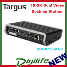 Targus DOCK120AUZ USB3.0 1K-2K Dual Video Docking Station