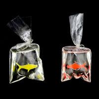 1:12 Puppenhaus Miniatur Transparenter Beutel Goldfish Puppe Haustier-Spielze ZD