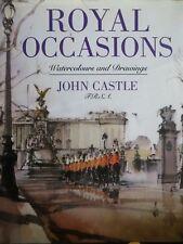 Dessin dédicacé John Castle, Royal Occasions, Londres, 1992