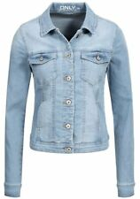 Only Damen Jeans Jacke New Westa Kurz Frühling Übergangs Jacket denim Basic