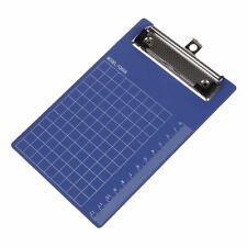 Blue PurplePad Clip Holder Folder Plastic Clipboard for paper A6 HKCE
