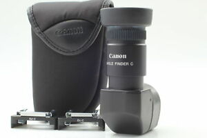 [N.Near MINT ] Canon Angle finder C 2.5x 1.25x for EOS ELAN w/ Case from JAPAN