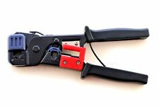 Professional Network Ethernet LAN Phone Crimper Crimp Tool CAT5e/6 RJ45/12/11/22