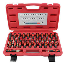 23pc Screwdrivers Vehicle Connectors Pin Removal Kit Terminals Release Tool Set
