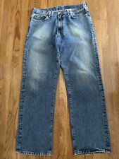 Lucky Brand Men Dungarees Preowned Size W36XL34