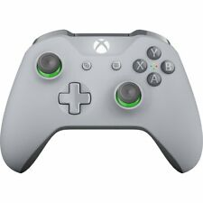 Microsoft Xbox One PC Bluetooth Wireless Wired Controller Grey Green WL3-00060