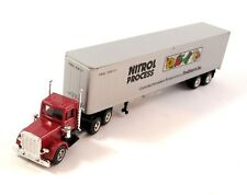 Herpa 141352 US Truck Peterbilt Kühlkoffer-Sattelzug Nitrol Process 1:87 H0 OVP
